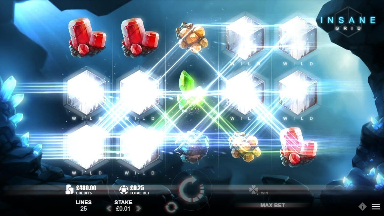 Crystal Rift Slot Insane Grid