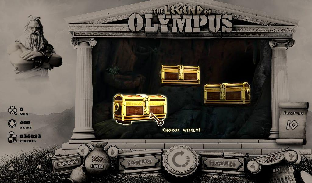 Legend Of Olympus RTP:  The RTP of this slot is 95.47%, which is an average and is more than enough to land you plenty of cashouts.