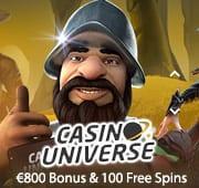Casino Universe Bonus Box