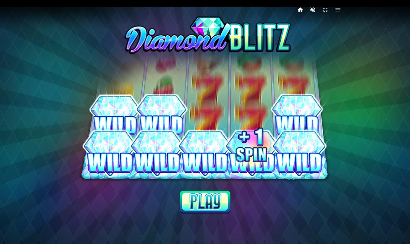 Diamond Blitz Slot Symbols: Apart from the regular symbols in the game, Diamond Blitz comes with a wild symbol which is the diamond symbol.
