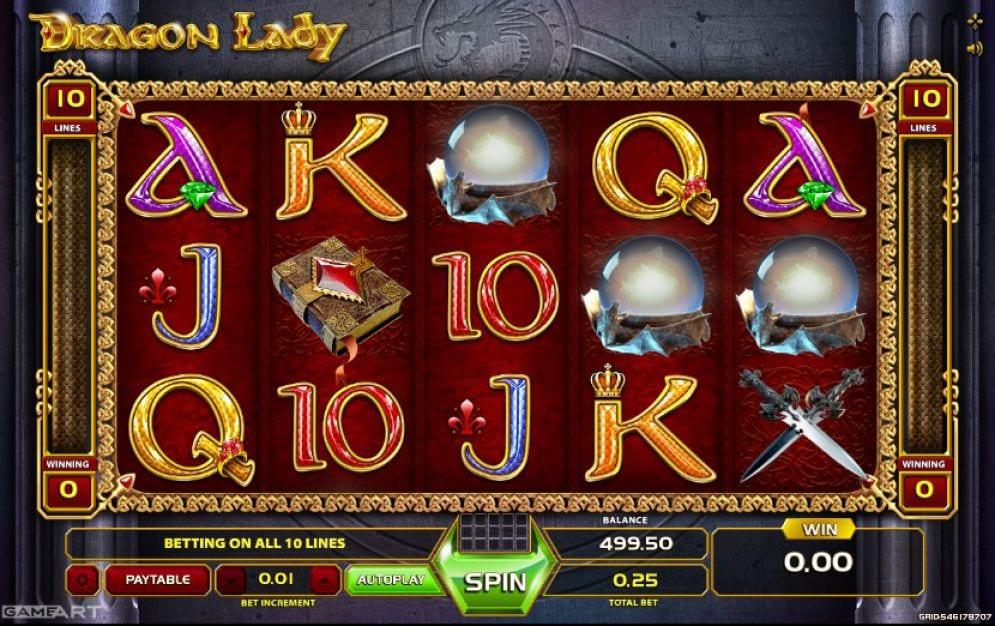 Discover the secrets of the Dragon Lady slot