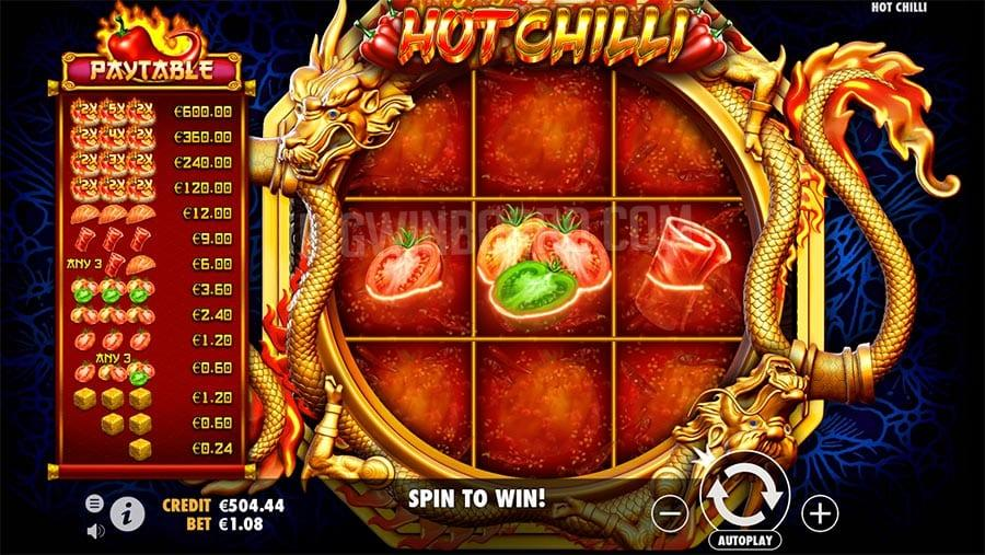 Hot Chilly Slot by Pragmatic Play