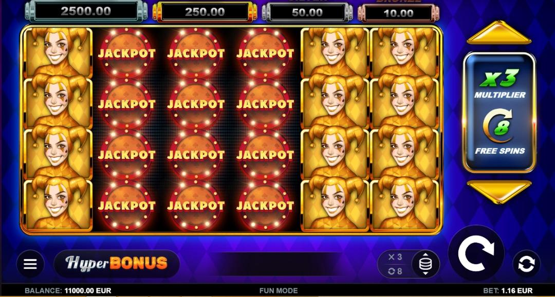 Joker MAX RTP: This online slot game has an RTP of 96.10% and the opportunity to bet between $0.50 and $100 per spin.