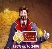 Monte Crypto Casino Box Banner