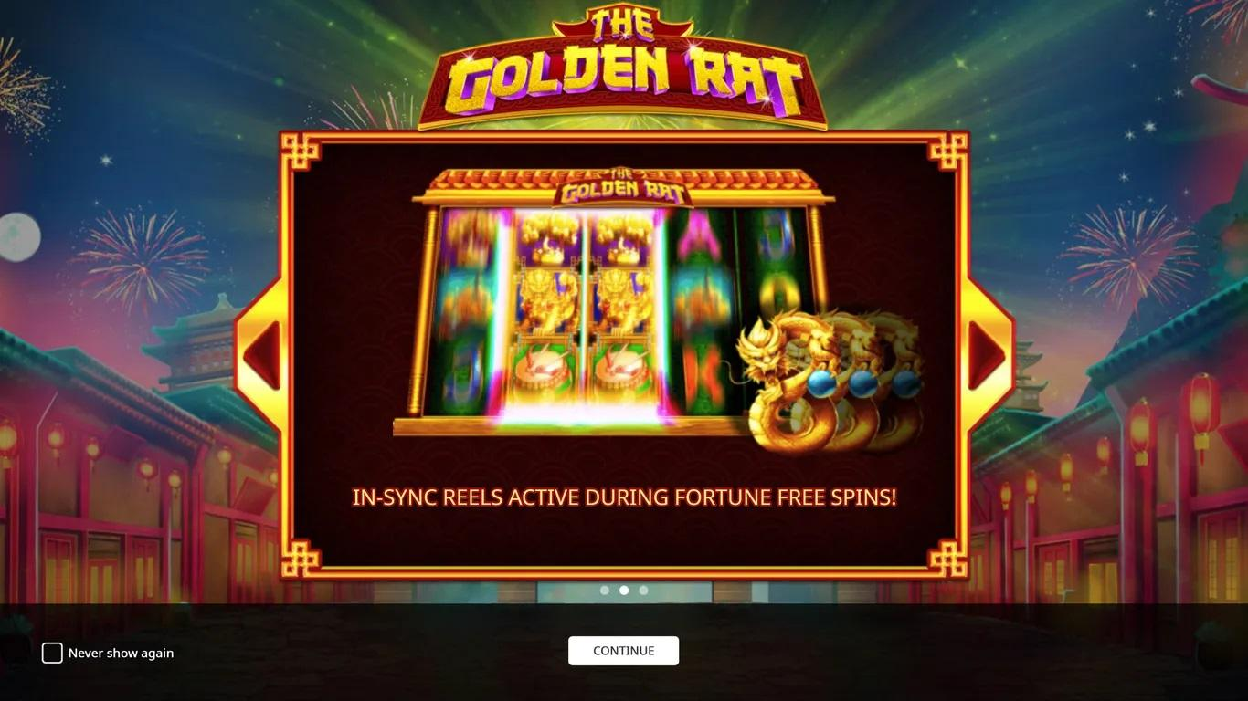 The Golden Rat Slot Paytable: As I referenced beforehand, it's a game which gets its motivation from the Chinese schedule, and from the way that 2020 will be the Year of the Rat.