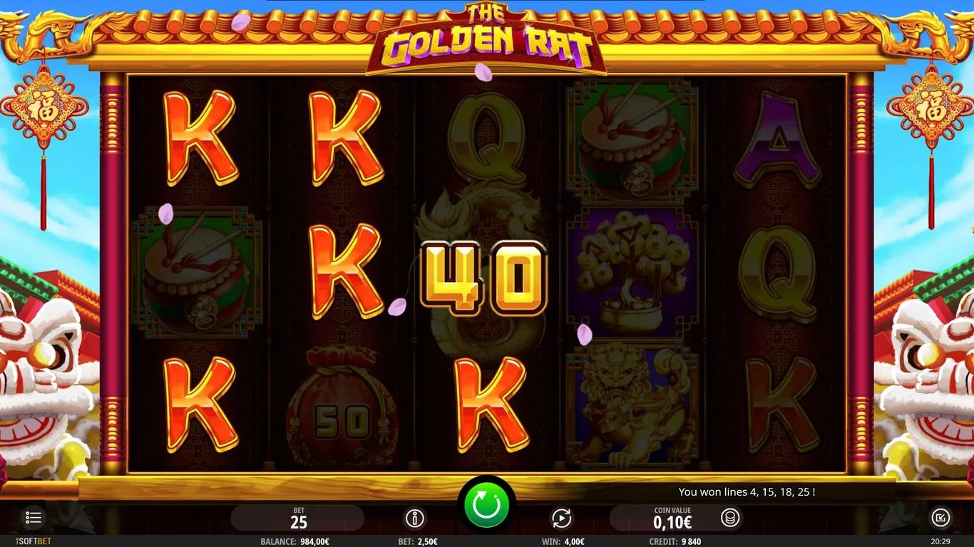 The Golden Rat Slot Symbols: With an exemplary soundtrack playing, symbols incorporate A, K, Q and J royals – the A and K icons pay multiple times your stake for 5 in mix.