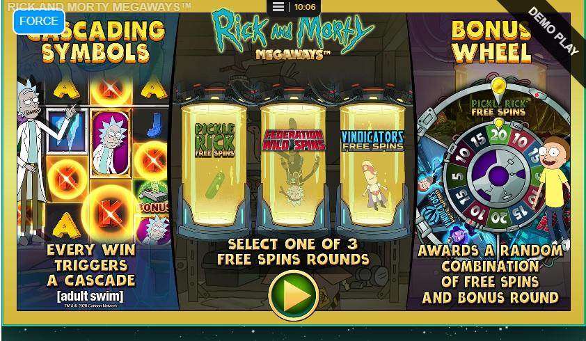 Rick and Morty Megaways RTP: This breathtaking slot game has an RTP equal to 96.55% and you can spin away with a bet ranging between $0.10 and as much as $10.