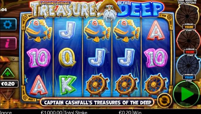 Captain Cashfall Megaways Symbols: Apart from the regular symbols, there are some special symbols which are responsible for triggering special features and larger payouts.