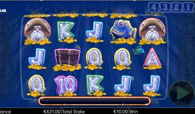 Captain Cashfall Megaways Paytable: The highest-paying symbol of the game is Captain Cashfall himself which will award players with a generous multiplier of 40x of the original bet.