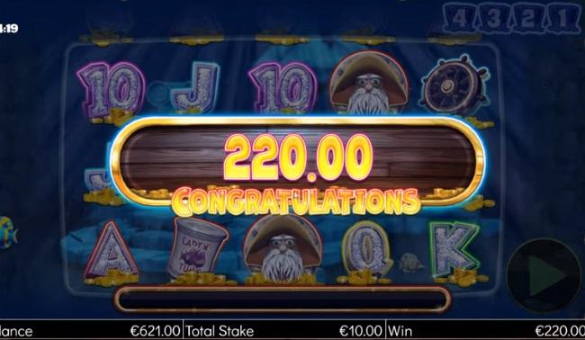 Captain Cashfall Megaways RTP: This intriguing slot comes with an RTP of 96.13% and an opportunity to bet between 0.20 and 100 credits per spin.