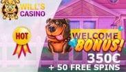 Will's Slot Welcome Bonus