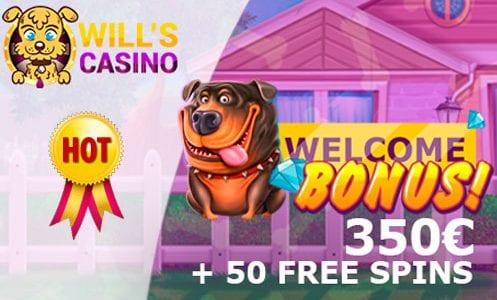 Will's Slot Welcome Bonus