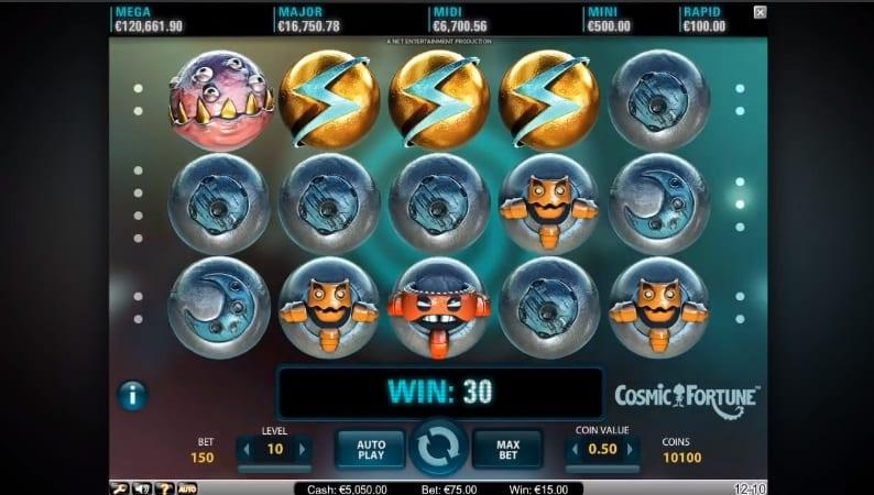 Cosmic Fortune Slot Symbols Explained: The majority of symbols in the game incorporate the usual space items that are incorporated in many similarly themed games.