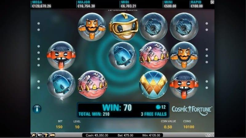 Cosmic Fortune Slot Paytable: The scenery that appears on the screen can be said to be quite familiar to many experienced slot players as this is not an uncommon theme design that many developers tend to lean towards.