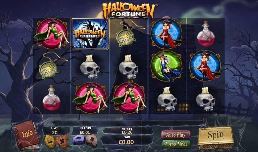 Halloween Fortune Symbols: Apart from the previously mentioned lower-paying symbols, there are higher-paying symbols and special symbols which are the slot's treasures.