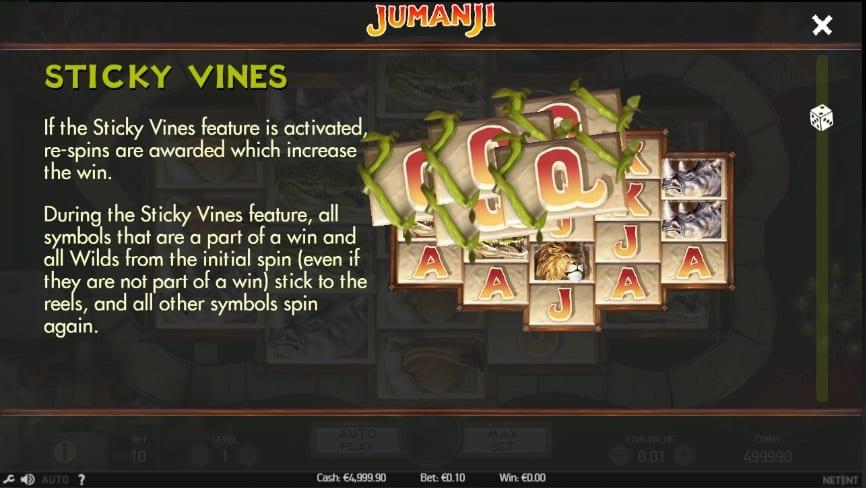 Jumanji Slot Symbols: The most important paying symbols will take you closer to a maximum reward of $100,800.