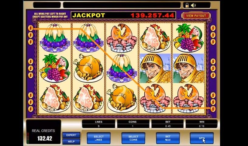 King Cashalot Slot Paytable: In the paytable of King Cashalot, you will find 8 regular symbols – 5 low-paying and 3-high paying icons.