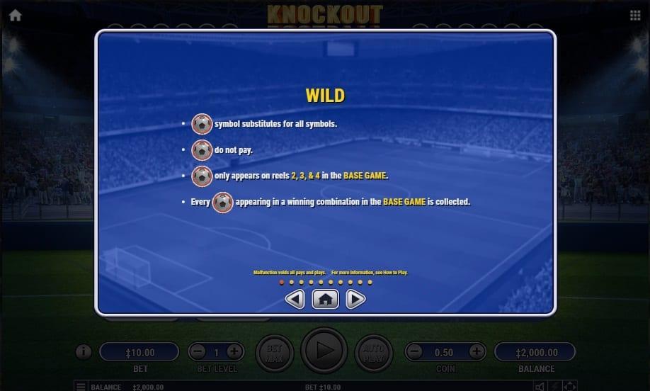 Knockout Football Symbols
