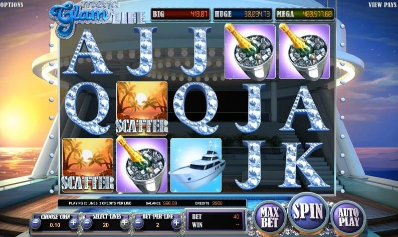 Mega Glam Life Slot Symbols: Apart from the regular symbols of the game, there are also special symbols which are responsible for triggering the special features in Mega Glam Life.