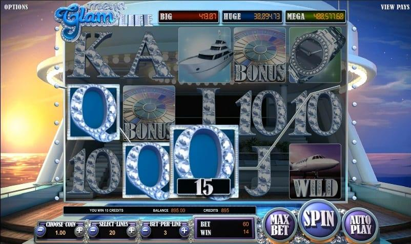 Mega Glam Life Slot Return to Player: This impressive slot has an RTP of 96.29% and a betting range between $0.02 and $100 per spin.
