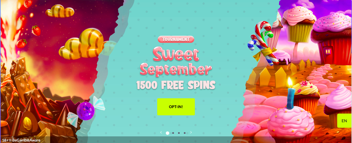 Embark on a Journey With WestCasino Sweet September Tournament