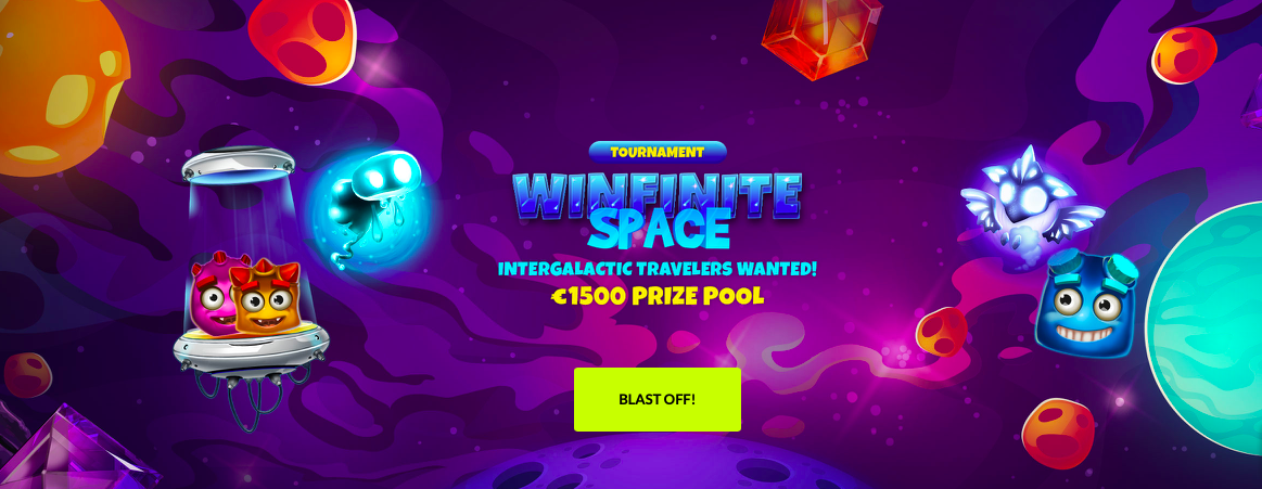 WestCasino is Going Hyperspace With Winfinite Space Tournament