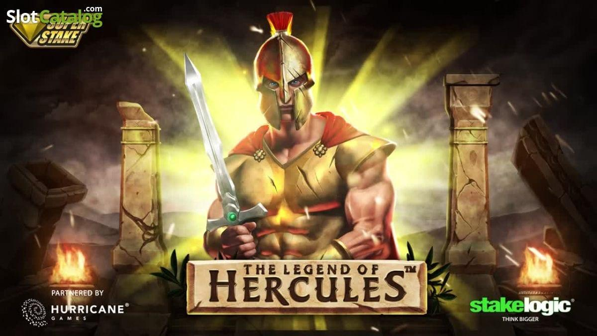 Be the First to Play The Legend of Hercules Slot by Stakelogic