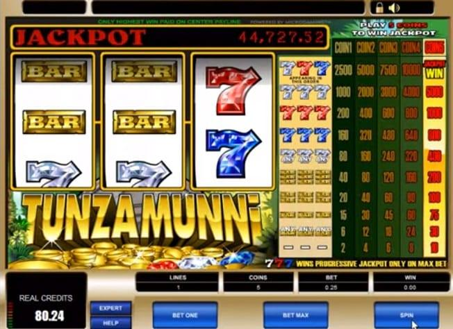 Tunzamunni Slot Paytable: With a classic three reel spins and an entertaining mexican retro theme behind it, this particular game has quite the welcoming feel to it, but it only has two symbols that you will quickly get used to.