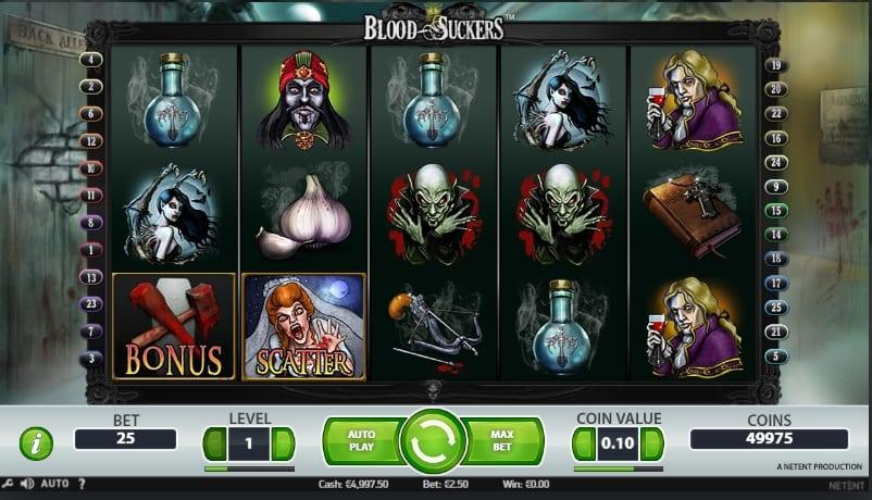 Blood Suckers Slot Return to Player: This slot holds an impressive Return To Player percentage of 98%, which is something little slot games can pride themselves with.