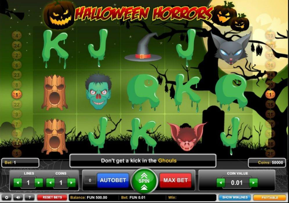 Halloween Horrors Slot Return to Player: With respect to other slot games, this particular Halloween slot holds a good RTP percentage of 96.26% which is one of the highest on the market.