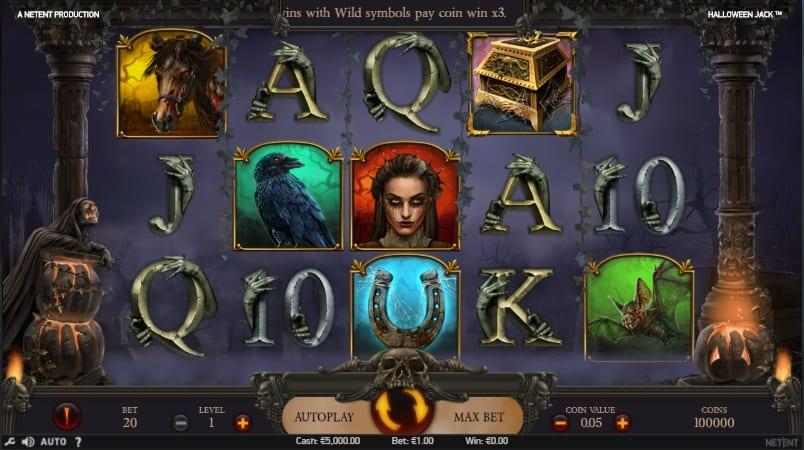 Halloween Jack Slot Return to Player: This breathtaking slot game has an exceptional RTP equal to 96.28% and you can spin away with a wager ranging between $0.20 and as much as $100.