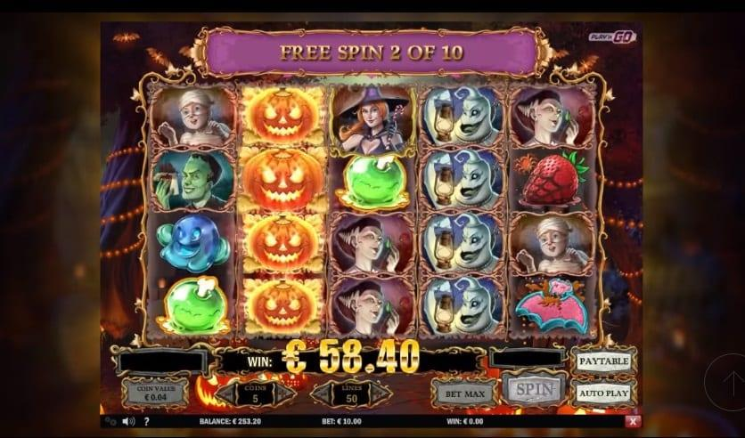 Happy Halloween Slot Return to Player: The RTP of Happy Halloween is 96.00%, which is an average and provides you with great opportunities for landing winning combinations.