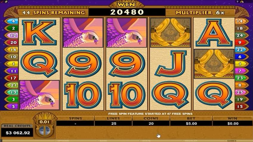 Mega Moolah Isis Slot Return to Player: Mega Moolah Isis has a theoretical RTP of 88%, meaning that you will have fair winning chances throughout your gambling session.