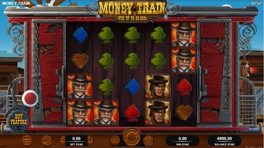 Money Train Symbols: They carry the likeness of two crossed guns and can substitute for any symbol in the game.
