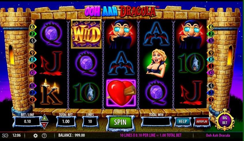 Ooh Aah Dracula Slot Return to Player - RTP: This fascinating slot game comes with an RTP of 99% and a betting range of $0.01 up to $50 per spin.