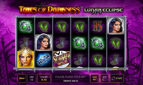 Tales of Darkness Lunar Eclipse Symbols: There are exactly nine symbols that feature on the paytable. These begin with four gothic-styled royals, the lowest-paying symbols in the game.