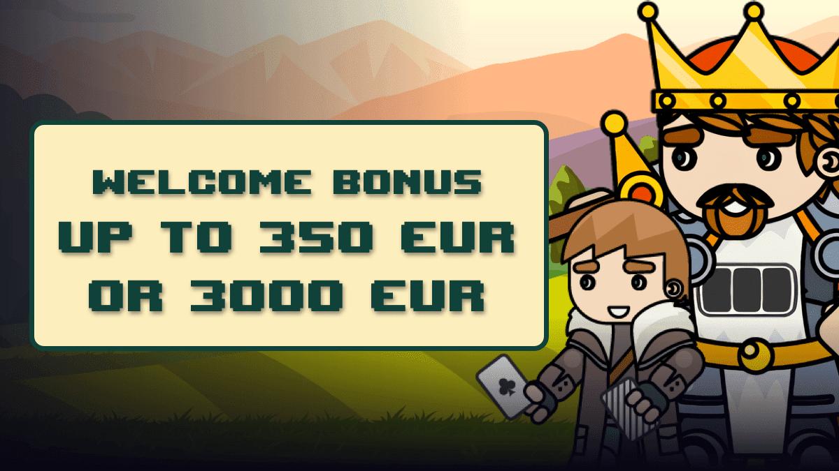 Bitkingz Casino welcome bonus