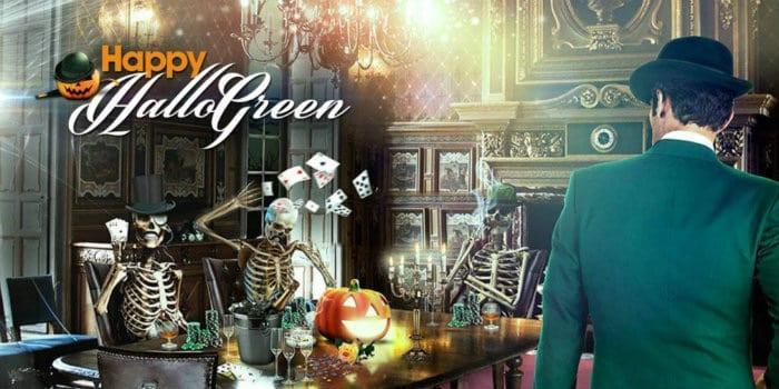Mr Green Halloween Promo