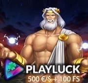 PlayLuck Casino Box Banner