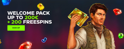GSlot Casino Welcome Pack