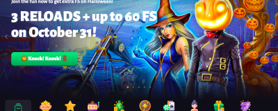 Slothunter Casino Halloween Bonus