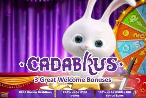 Cadabrus Casinos Welcome Bonus