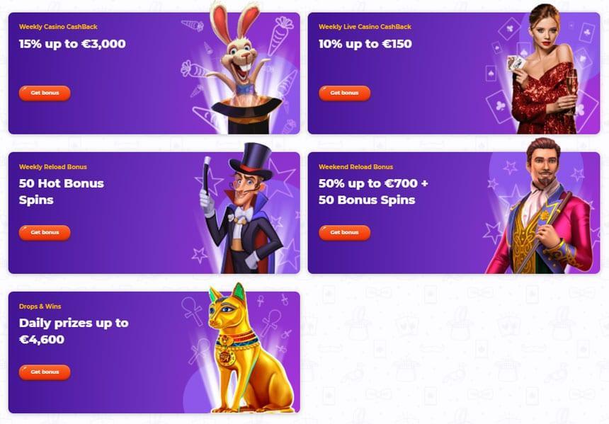 Cadabrus Casino Promotions