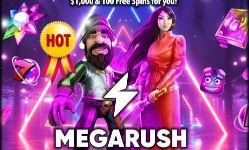 MegaRush Casino Promo