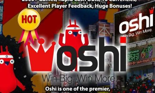 Oshi Casino Promo