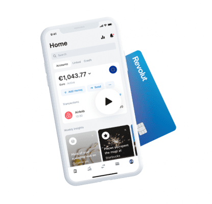 The Revolut Mobile App is Safe and Easy to use