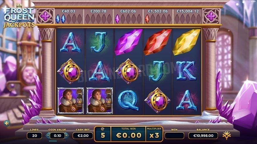 Frost Queen Jackpots Symbols