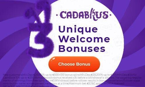 Cadabrus Casino Promo