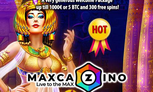 MaxCazino Promo