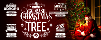 Yggdrasil Christmas Tree at Wolfy Casino